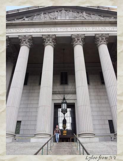 Le tribunal qu'on voit dans la série New York police judiciaire