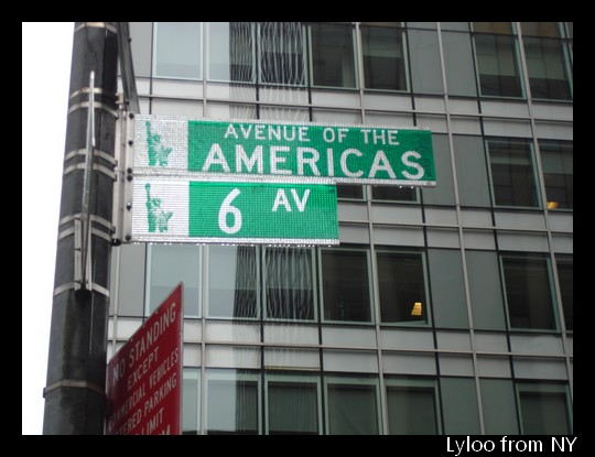 Avenue of the Americas