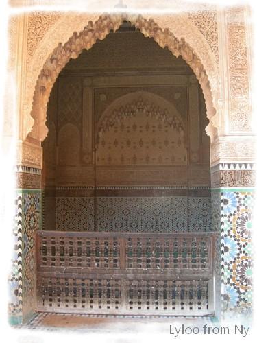 Les tombeaux Saadiens